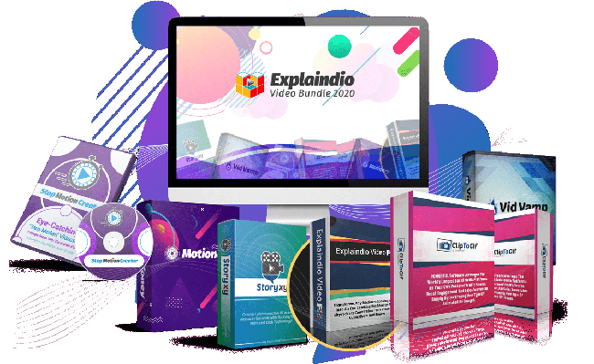 Explaindio Video Bundle 2020 : Turn Your Dull Videos Into Eye Catching Your Client