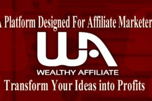 Wealthy Affiliate Designed For Affiliate Marketers