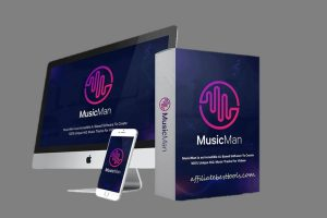 MusicMan : Create Music Tracks Without Composing Skills