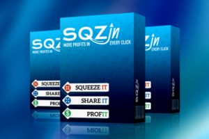 SQZin, Drive Traffic & SELL 24Hours a Day
